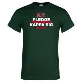 Dark Green T Shirt-Pledge the Best