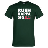 Dark Green T Shirt-Rush Kappa Sig