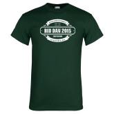 Dark Green T Shirt-BiD Day -  Chapter Personalized