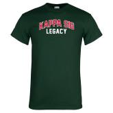 Dark Green T Shirt-Legacy