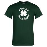 Dark Green T Shirt-Kiss Me Im A K-Sig