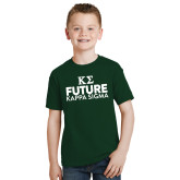 Youth Dark Green T Shirt-Future Kappa Sigma