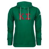 Adidas Climawarm Dark Green Team Issue Hoodie-Kappa Sigma - Greek Letters