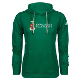 Adidas Climawarm Dark Green Team Issue Hoodie-Kappa Sigma Fraternity w/ Crest