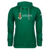 Adidas Climawarm Dark Green Team Issue Hoodie-Kappa Sigma Fraternity w/ Crest