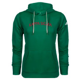 Adidas Climawarm Dark Green Team Issue Hoodie-Arched Kappa Sigma