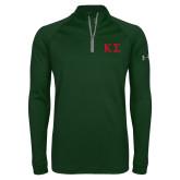 Under Armour Dark Green Tech 1/4 Zip Performance Shirt-Kappa Sigma - Greek Letters