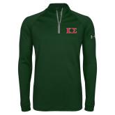 Under Armour Dark Green Tech 1/4 Zip Performance Shirt-Kappa Sigma - Greek Letters - 2 Color