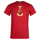 Red T Shirt-Crest