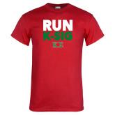 Red T Shirt-Run K-Sig