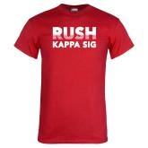 Red T Shirt-Rush Kappa Sig Retro