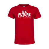 Youth Red T Shirt-Future Kappa Sigma