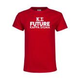 Youth Red T Shirt-Future Kappa Sigma