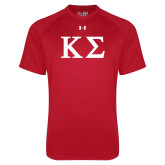 Under Armour Red Tech Tee-Kappa Sigma - Greek Letters