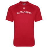 Under Armour Red Tech Tee-Arched Kappa Sigma