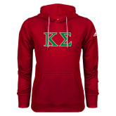 Adidas Climawarm Red Team Issue Hoodie-Kappa Sigma - Greek Letters - 2 Color