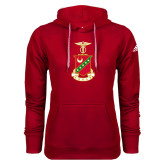 Adidas Climawarm Red Team Issue Hoodie-Crest