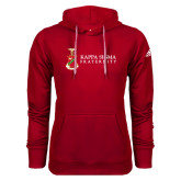 Adidas Climawarm Red Team Issue Hoodie-Kappa Sigma Fraternity w/ Crest