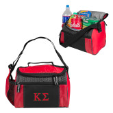 Edge Red Cooler-Kappa Sigma - Greek Letters - 2 Color