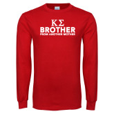 Red Long Sleeve T Shirt-Brother From Another Mother