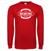 Red Long Sleeve T Shirt-BiD Day -  Chapter Personalized