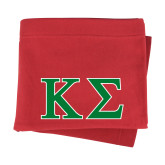 Red Sweatshirt Blanket-Kappa Sigma - Greek Letters - 2 Color