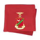 Red Sweatshirt Blanket-Crest