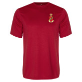 Performance Red Tee-Crest