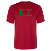 Performance Red Tee-Kappa Sigma - Greek Letters