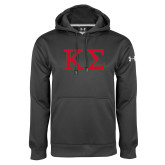 Under Armour Carbon Performance Sweats Team Hoodie-Kappa Sigma - Greek Letters - 2 Color