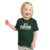 Toddler Dark Green T Shirt-Future Kappa Sigma
