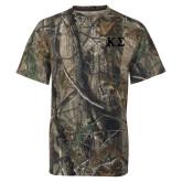 Realtree Camo T Shirt-Kappa Sigma - Greek Letters