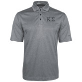 Nike Golf Dri Fit Charcoal Heather Polo-Kappa Sigma - Greek Letters