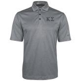 Nike Golf Dri Fit Charcoal Heather Polo-Kappa Sigma - Greek Letters