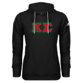 Adidas Climawarm Black Team Issue Hoodie-Kappa Sigma - Greek Letters Tackle Twill