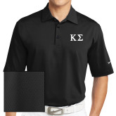 Nike Sphere Dry Black Diamond Polo-Kappa Sigma - Greek Letters