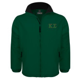 Dark Green Survivor Jacket-Kappa Sigma - Greek Letters - 2 Color