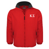 Red Survivor Jacket-Kappa Sigma - Greek Letters