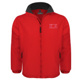Red Survivor Jacket-Kappa Sigma - Greek Letters - 2 Color