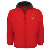 Red Survivor Jacket-Crest
