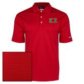 Nike Dri Fit Red Pebble Texture Sport Shirt-Kappa Sigma - Greek Letters - 2 Color
