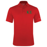 Columbia Red Omni Wick Drive Polo-Kappa Sigma - Greek Letters