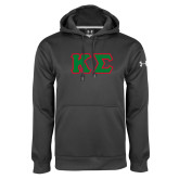 Under Armour Carbon Performance Sweats Team Hoodie-Kappa Sigma - Greek Letters Tackle Twill