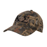 Oilfield Camo Structured Hat-Kappa Sigma - Greek Letters