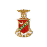 Crest And Star Patch-