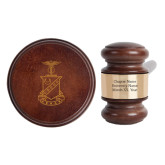 Personalized Gavel & Sound Block Set-