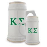 Full Color Decorative Ceramic Mug 22oz-Kappa Sigma - Greek Letters - 2 Color