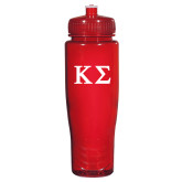 Spectrum Red Sport Bottle 28oz-Kappa Sigma - Greek Letters