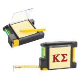 Measure Pad Leveler 6 Ft. Tape Measure-Kappa Sigma - Greek Letters - 2 Color