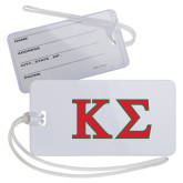 Luggage Tag-Kappa Sigma - Greek Letters - 2 Color